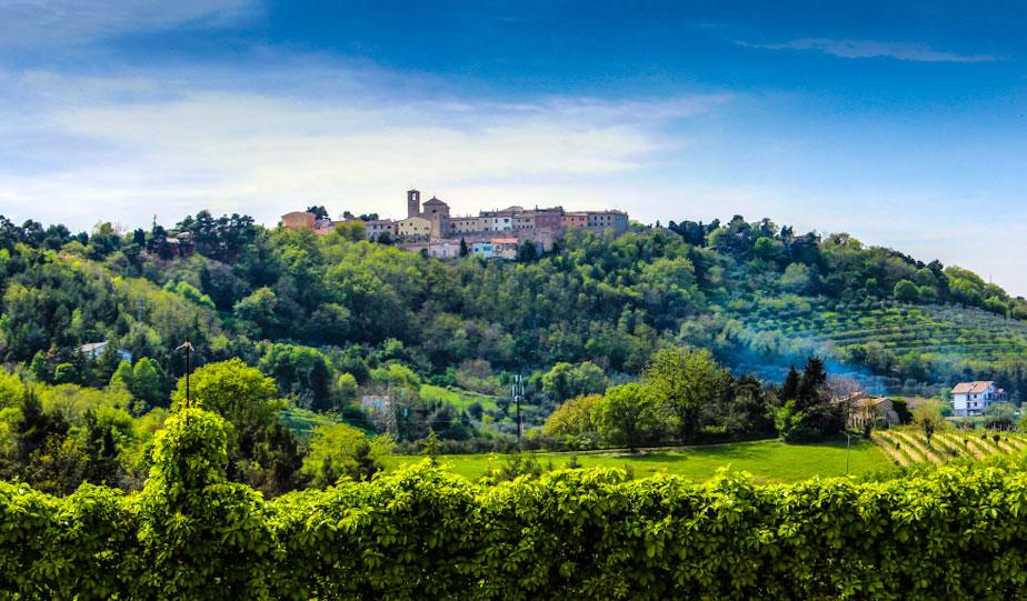 Foto di campagna intorno a Pesaro