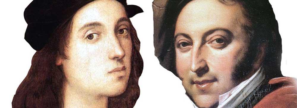 Raffaello e Gioacchino Rossini