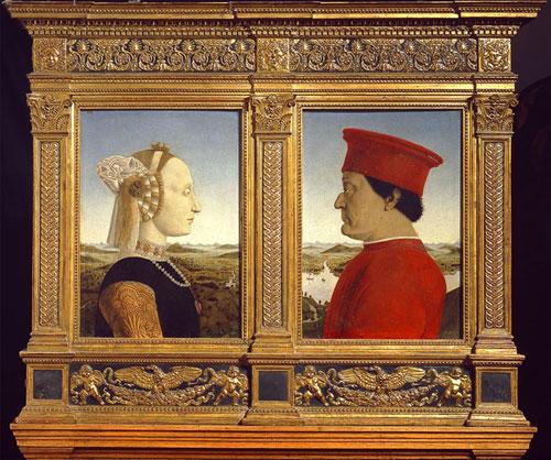 Ritratto Battista-Sforza