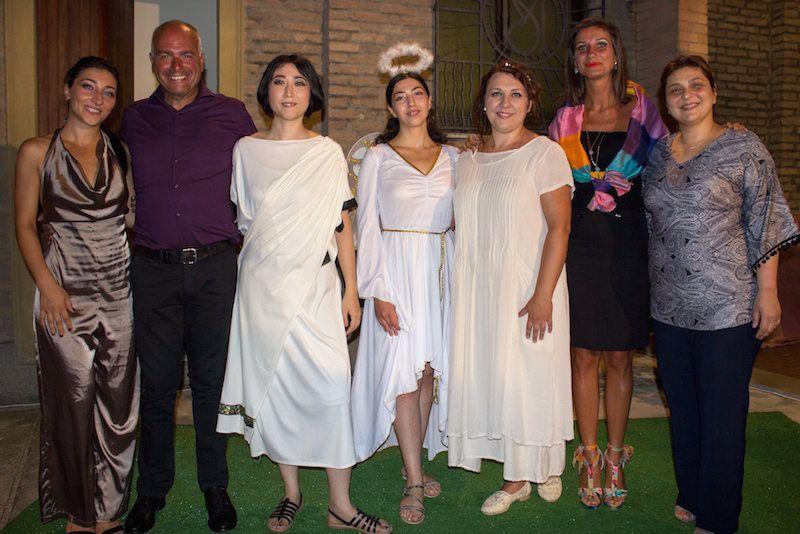 foto di gruppo Orfeo ed Euridice (31 luglio 2016)