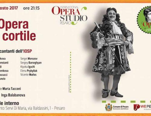 """Concerto finale """"l'Opera in cortile"""""""