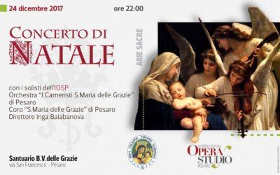 flyer Concerto di Natale 2017